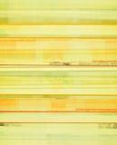 Geel en Oranje Abstract Art Background Stock Foto's