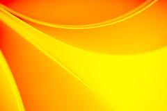 Geel en oranje van kleurentonen patroon als achtergrond Stock Foto