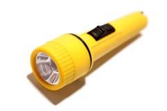 Geel flitslicht Stock Foto
