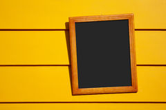 Geel Frame royalty-vrije stock afbeeldingen