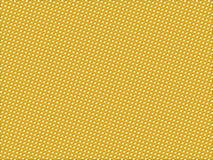 Geel gestippeld patroon Royalty-vrije Stock Foto's