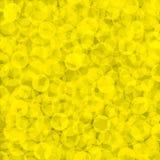 Geel geweven behang Stock Foto