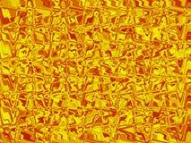 Geel glas. Royalty-vrije Stock Afbeelding