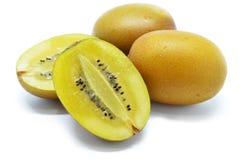 Geel gouden kiwifruit Royalty-vrije Stock Fotografie
