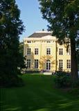 Geel herenhuis Royalty-vrije Stock Fotografie