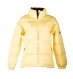 Geel jasje royalty-vrije stock afbeelding