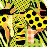 Geel meervoudspatroon vector illustratie