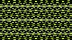 Geel net Naadloze textuur Geometrisch patroon stock illustratie