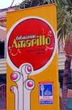 Geel Onderzees (Submarino Amarillo) Cultureel Centrum, Havana royalty-vrije stock afbeeldingen