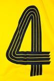geel overhemd royalty-vrije stock afbeelding