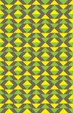 Geel patroon Stock Foto