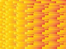 Geel rood rechthoek abstract naadloos patroon Royalty-vrije Stock Foto's