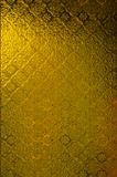 Geel vensterglas Stock Afbeelding