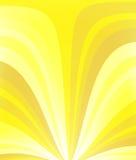 Geel zonlicht royalty-vrije illustratie