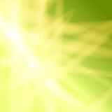 Geelgroene abstracte achtergrond Stock Fotografie