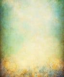 Geelgroene Grunge Stock Afbeelding