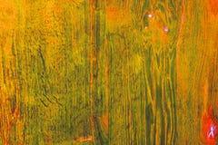 Geelgroene houten achtergrond Royalty-vrije Stock Fotografie