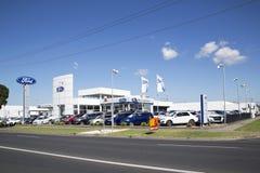 Rex Gorell Ford Motor Dealership stock image