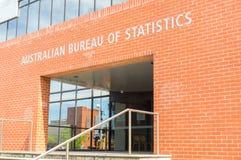 Geelong biuro Australijski biuro statystyki w Australia zdjęcia royalty free