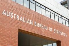 Geelong biuro Australijski biuro statystyki w Australia fotografia royalty free
