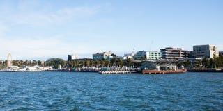 Geelong nabrzeże w lecie zdjęcia stock