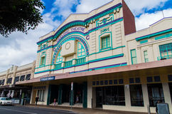 Geelong Theatre in Geelong. Geelong Theatre is now home to a Village Cinemas multiplex in central Geelong, Australia Royalty Free Stock Images