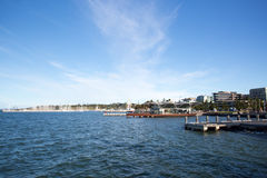 Geelong Waterfront in Summer royalty free stock photos