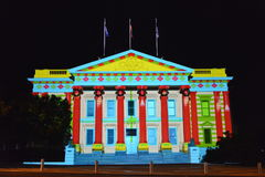 Geelong White night arts festival Stock Photo