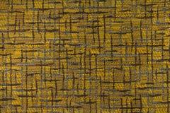 Geeloranje, bruine achtergrond met een abstract patroon Royalty-vrije Stock Afbeelding