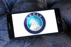 Geely开汽车商标 库存图片
