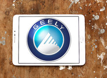 Geely car logo Royalty Free Stock Photo