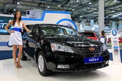 Geely Emgrand Royalty Free Stock Photography