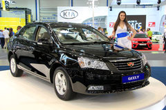 Geely Emgrand Stock Images