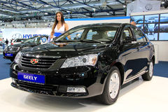 Geely Emgrand Royalty Free Stock Photos