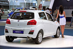 Geely Englon SC 515-RV. KIEV - SEPTEMBER 10: Geely Englon SC 515-RV at yearly automotive-show Capital auto show 2011. September 10, 2011 in Kiev, Ukraine Stock Photography