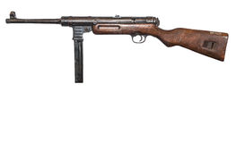Geeman MP .40   9mm Machine Pistol Stock Image