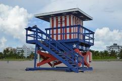 Geen badmeesters op het strand Stock Fotografie