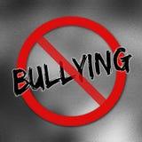 Geen Bulling-teken Royalty-vrije Stock Afbeeldingen