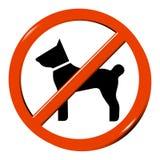 Geen hond Stock Foto's