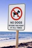 Geen Honden Stock Foto