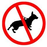 Geen huisdieren Royalty-vrije Stock Foto's