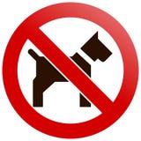 Geen huisdieren Royalty-vrije Stock Afbeelding