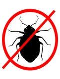 Geen Insecten van het Bed stock illustratie