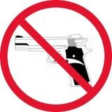 Geen kanon stock illustratie