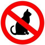 Geen katten stock illustratie