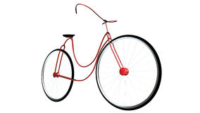 Geen merk moderne fiets deisng Royalty-vrije Stock Foto's