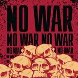 Geen oorlog Royalty-vrije Stock Fotografie