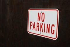 Geen parkeren Stock Foto's