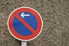 Geen parkerenteken Royalty-vrije Stock Fotografie