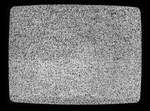Geen textuur van signaaltv Effect van het televisie het korrelige lawaai als achtergrond Geen patroon van de signaal retro uitste stock afbeeldingen